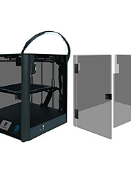 abordables -tronxy® d01 et panneau acrylique imprimante 3d 220 * 220 * 220 détecteur de filament diy / support de 0.4 mm / support de récupération en cas de panne de courant
