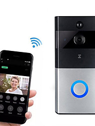 cheap -Factory OEM HH-D05 WIFI Recording No Screen(output by APP) Telephone One to One video doorphone