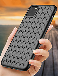 cheap -Luxury Braided Soft TPU Case For iPhone 11 Pro Max / iphone 11 Pro / iphone 11 Case Grid Weaving Silicone Full Phone Cover For iphone XS Max XR XS X 8 Plus 8 7 Plus 7 6 Plus 6