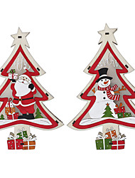 cheap -Holiday Decorations Christmas Decorations Christmas Lights / Christmas / Christmas Ornaments LED Light / Decorative / Novelty 1pc