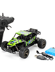 cheap -RC Car 101866 3CH 2.4G Off Road Car 1:20 Brush Electric 18-20 km/h