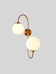 cheap -Matte Anti-Glare Creative Tiffany LED Modern Wall Lamps Wall Sconces Living Room Bedroom Iron Wall Light IP54 220-240V 7 W