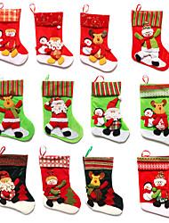 cheap -Holiday Decorations Christmas Decorations Christmas / Christmas Ornaments / Decorative Objects Cartoon / Decorative / Novelty Turkey / White / Purple 1pc