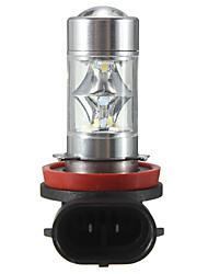 cheap -1pcs H11 12 SMD 2835 LED Light 60W Car Fog Driving Light Bulb