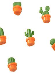 Недорогие -Магниты на холодильник симпатичные суккулентных растений магнит кнопка кактус холодильник сообщение наклейка маг домашнего декора доступ на кухню