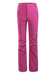 cheap -Women's Hiking Pants Winter Outdoor Windproof Warm Soft Comfortable Pants / Trousers Bottoms Camping / Hiking / Caving Traveling Winter Sports Black Fuchsia Burgundy S M L XL XXL