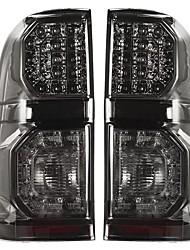 cheap -Pair For Toyota Hilux(Vigo) 2004-2015 Car LED Rear Tail Brake Light Lamp Smoke Black