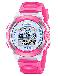 cheap -Kids Digital Watch Digital Digital Fashion Water Resistant / Waterproof Chronograph Lovely / One Year / Silicone