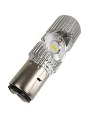 cheap -Fit for Yamaha YBR 125 Kymco Vespa DC 8V - 80V BA20D LED Headlamp Light