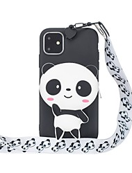 cheap -Case For Apple iPhone 12 / iPhone 12 Mini / iPhone 12 Pro Max Wallet / Pattern Back Cover 3D Cartoon TPU