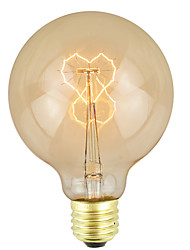 cheap -1pc 25 W E26 / E27 Warm White Decorative Incandescent Vintage Edison Light Bulb 200-240 V