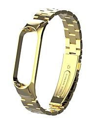 Недорогие -ремешок для часов для mi band 3 / xiaomi mi band 4 xiaomi ювелирный дизайн браслет из нержавеющей стали