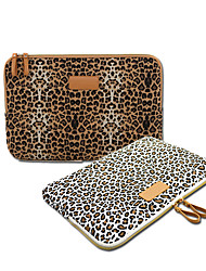 cheap -10 Inch Laptop / 12 Inch Laptop / 13.3 Inch Laptop Sleeve Canvas Leopard Print Unisex Water Proof Shock Proof