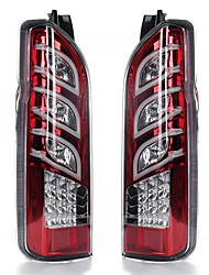 cheap -Pair Car Red Lens Rear Tail Brake Light Turn Signal Lamps For Toyota Hiace 2005-2017