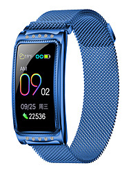 cheap -KUPENG KF28 Unisex Smartwatch Smart Wristbands Bluetooth Waterproof Touch Screen Heart Rate Monitor Blood Pressure Measurement Exercise Record Pedometer Call Reminder Activity Tracker Sleep Tracker