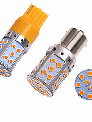 Недорогие -2 шт. Ba15s (1156) / bau15s / 7440 автомобильные лампочки smd 3030 35 светодиодных указателей поворота / стоп-сигналов / фонарей заднего хода (заднего хода) для универсальных на все годы
