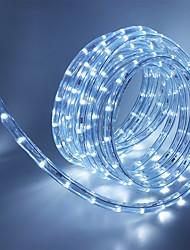 Недорогие -5 метров Гибкие светодиодные ленты 180 светодиоды 1 комплект Тёплый белый / Белый / Красный Декоративная / Праздник / ТВ-фон 85-265 V
