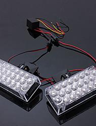 Недорогие -2шт автомобиль дневного света мигает аварийное предупреждение стробоскопы