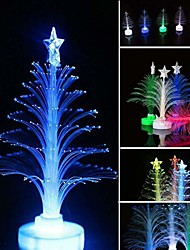 cheap -1pc Glow Christmas Tree LED Color Changing Fiber Optic for Xmas Home Table Party Decoration