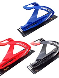 cheap -Bike Water Bottle Cage Outdoor For Cycling Bicycle Triathlon BMX Fixed Gear Bike PC Black Red Blue 1 pcs