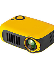 cheap -Mini Portable Projector 800 Lumen Supports 1080P LCD 50000 Hours Lamp Life Home Theater Video Projector