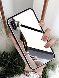Недорогие -роскошный стеклянный чехол для яблока iphone 6 7 8 плюс x xs крышка xr 7plus 8plus 6g 6s x xs покрытие зеркала глянцевый чехол для мобильного телефона