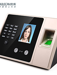 cheap -Fingerprint Time Attendance Face Recognition Biometric Machine Multiple Verification Password ID Card Identification Aeecss Control Funtion Infrared Dual Camera