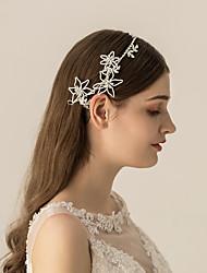 cheap -Rhinestone / Alloy Headbands / Headdress with Rhinestone / Sparkling Glitter / Floral 1pc Wedding / Party / Evening Headpiece