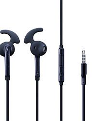 Недорогие -S7 наушники 3,5 мм проводная гарнитура микрофон пульт дистанционного управления громкостью стерео спортивные наушники для Samsung Galaxy