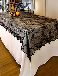 cheap -Casual polyester fibre Square Table Cloth Geometric Halloween Table Decorations