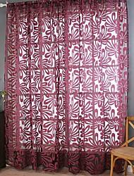 abordables -Moderne Pur Un Panneau Pur Salle de séjour   Curtains