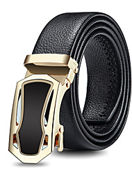cheap -Men's Basic Buckle - Solid Colored