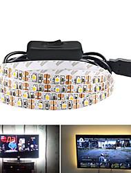 cheap -5m LED Strip Lights Flexible Tiktok Lights 300 LEDs SMD3528 5mm Warm White White Red Waterproof Party Decorative 5 V 1 set