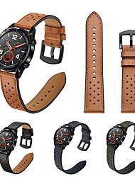 abordables -bracelet en cuir véritable montre-bracelet pour huawei watch 2 pro / huawei montre gt / huawei honneur bracelet magique bracelet remplaçable
