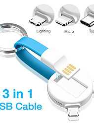 cheap -The New Phone Data Cable Bear Three-in-one Magnetic Absorption Cable is Applicable to Apple Android Type-c
