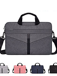 cheap -13.3 Inch Laptop / 14 Inch Laptop / 15.6 Inch Laptop Shoulder Messenger Bag / Briefcase Handbags Polyester Solid Color Unisex Water Proof Shock Proof