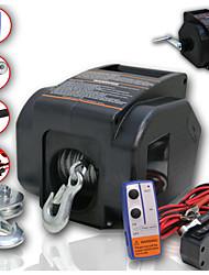 Недорогие -3500 фунтов 12 В электрическая лебедка с беспроводным двигателем