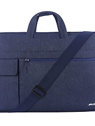cheap -11.6 Inch Laptop / 12 Inch Laptop / 13.3 Inch Laptop Sleeve / Shoulder Messenger Bag / Briefcase Handbags Canvas Solid Color Unisex Water Proof Shock Proof