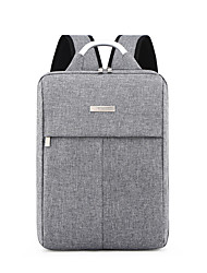 cheap -14 Inch Laptop / 15.6 Inch Laptop Commuter Backpacks Nylon Fiber Solid Color Unisex Water Proof Shock Proof