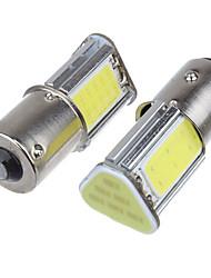 Недорогие -2pcs 1156 Автомобиль Лампы 5 W COB 4 Светодиодная лампа Противотуманные фары / Лампа поворотного сигнала / Тормозные огни Назначение Универсальный Все года