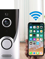 cheap -Factory OEM M16 WIFI Recording No Screen(output by APP) Telephone One to One video doorphone