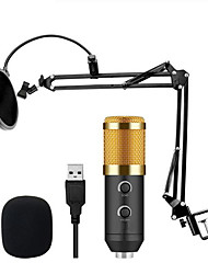 cheap -M 900 USB Microphone Condenser Studio With Stand Mount And Pop Filter Mic For Computer Karaoke 6 Pcs