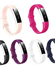 Недорогие -спортивный силиконовый ремешок для часов ремешок на запястье для fitbit alta hr умные часы браслет браслет сменные аксессуары