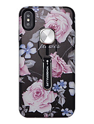 cheap -Phone Case For Apple Back Cover iPhone 12 Pro Max 11 SE 2020 X XR XS Max 8 7 6 Ultra-thin Pattern Flower / Floral TPU