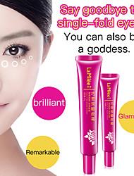 abordables -paupières double-stéréotype crème durable trace naturelle libre invisible coréen double-paupière pâte grands yeux 35g