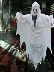 Недорогие -Призрачный кварц Товары для Хэллоуина Детские Взрослые Мальчики Хэллоуин Хэллоуин Фестиваль / праздник Вязанная Белый Карнавальные костюмы / Костюм
