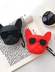 cheap -Case For AirPods Cute / Dustproof / Cool Headphone Case Soft