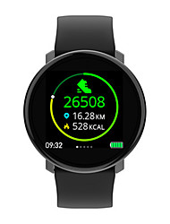 cheap -Couple's Smartwatch Digital Stylish Silicone Black 30 m Heart Rate Monitor Bluetooth Smart Analog Fashion - Black Two Years Battery Life / Stainless Steel