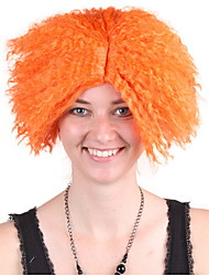 cheap -Cosplay Mad Hatter Cosplay Wigs Women's 12 inch Synthetic Fiber Orange Orange Anime