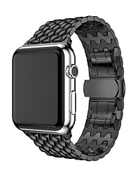 cheap -Watch Band for Apple Watch Series 4/3/2/1 Apple Business Band Stainless Steel Wrist Strap